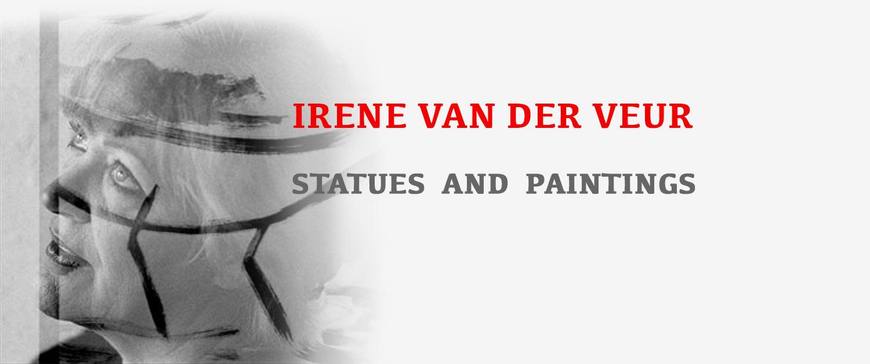 Irene van der Veur - statues and paintings